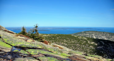 View from Acadia National Park Cadillac Mountain