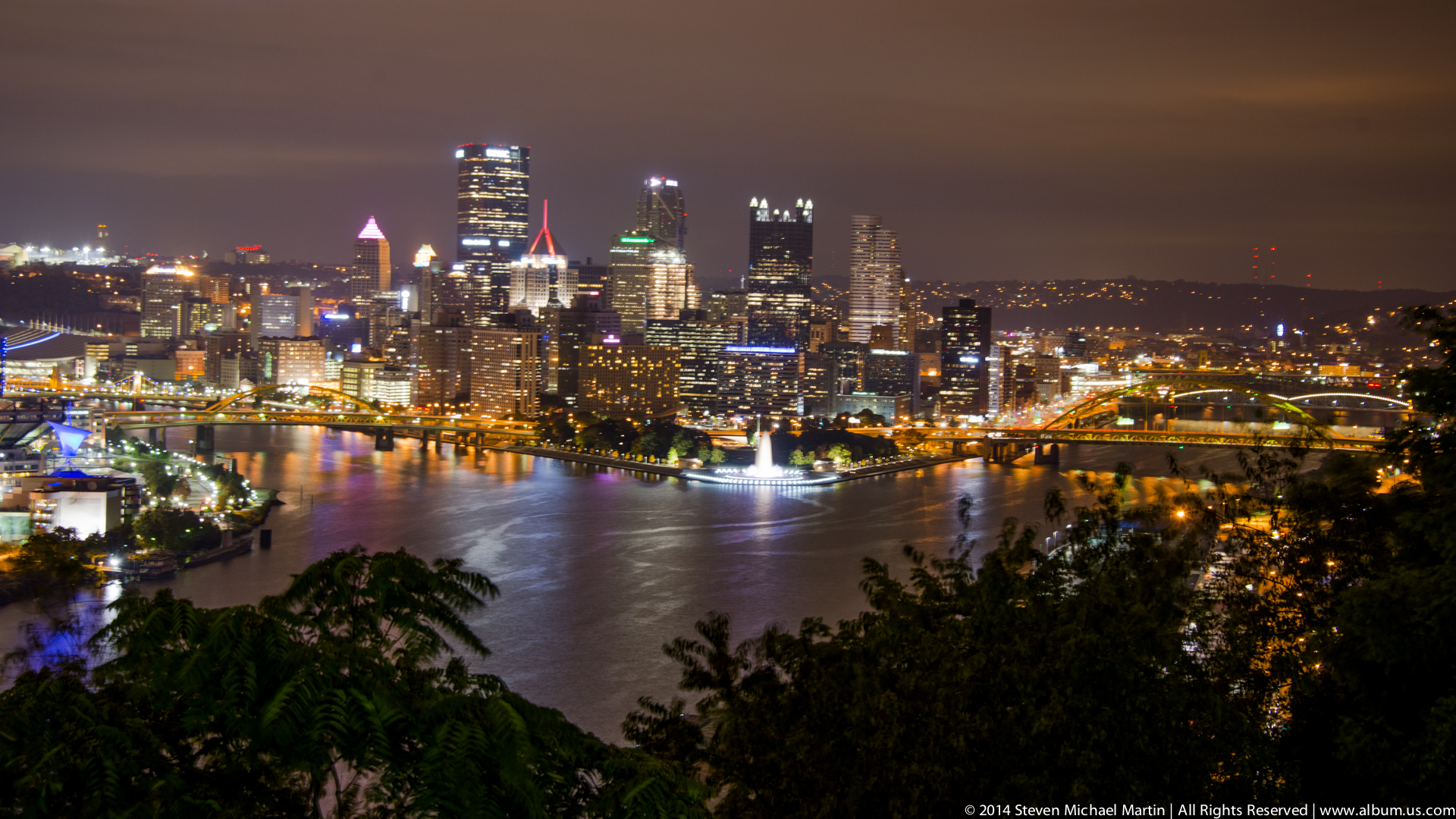 Pittsburgh At Night Album Us Com Photography By Steven