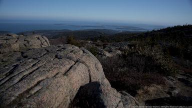 Acadia National Park Cadillac Mountain