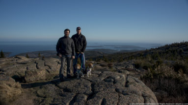 Acadia National Park Cadillac Mountain Randy Foster Steve Martin