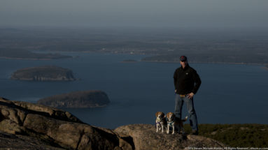Acadia National Park Cadillac Mountain Randy Foster Lucy Dixie