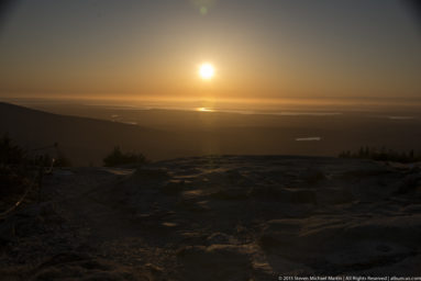 Acadia National Park Cadillac Mountain Sunset