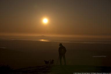 Acadia National Park Cadillac Mountain Sunset Randy Foster