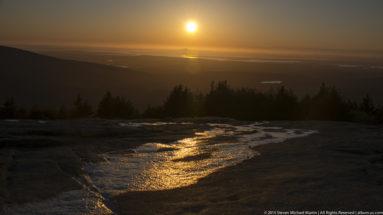 Acadia National Park Cadillac Mountain Sunset