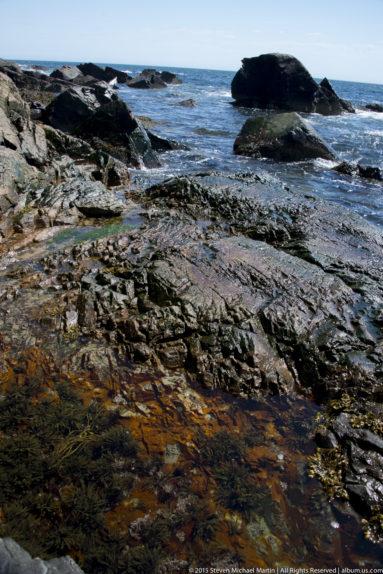 Acadia National Park Crashing Waves