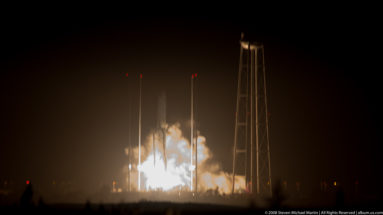 Antares Rocket Launch October 17 2016 by Steven Michael Martin of album.us.com