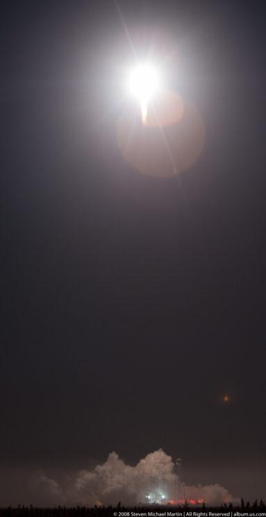 Antares Rocket Launch October 17 2016 by Steven Michael Martin of album.us.com