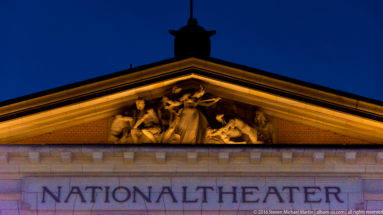 Nationaltheatret (National Theatre) by Steven Michael Martin