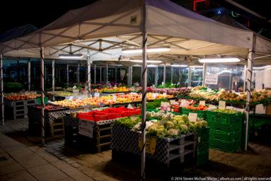Market in Oslo by Steven Michael Martin