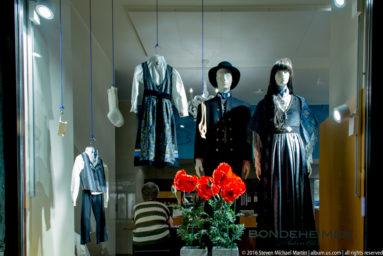 Store Window in Oslo by Steven Michael Martin