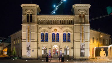 Nobels Fredssenter (Nobel Peace Center) by Steven Michael Martin