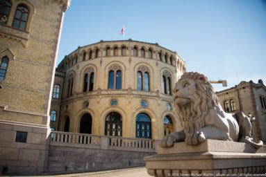 Stortinget (Supreme Legislature) of Norway by Steven Michael Martin