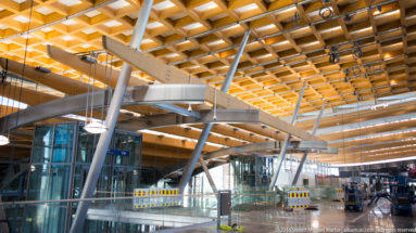 Oslo Airport by Steven Michael Martin