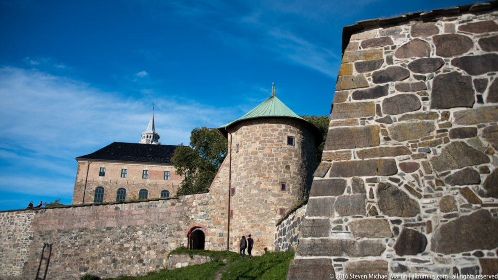 Akershus slott og festning (Castle and Fortress) by Steven Michael Martin