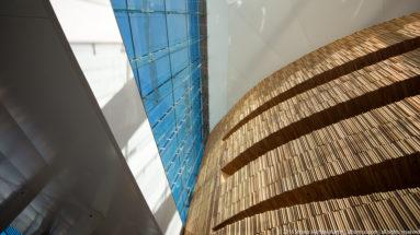 Interior of Operahuset (Oslo Opera House) by Steven Michael Martin