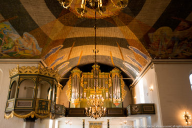 Interior of Oslo Cathedral (Oslo domkirke) by Steven Michael Martin