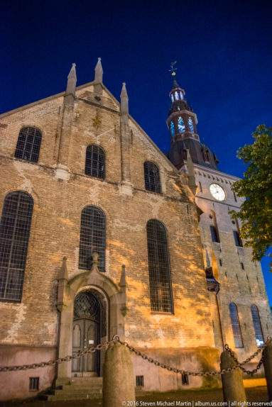 Side of Oslo Cathedral (Oslo domkirke) by Steven Michael Martin