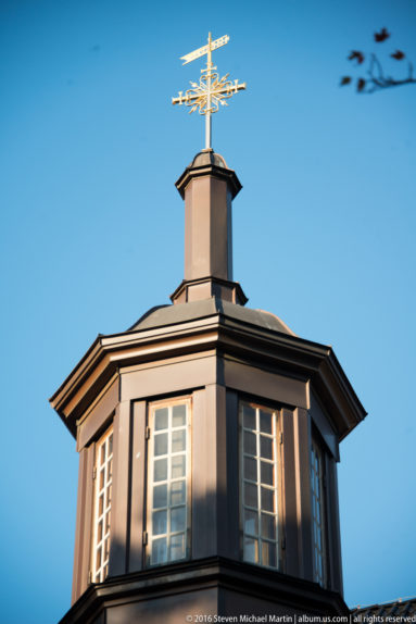 Steeple of Oslo Cathedral (Oslo domkirke) by Steven Michael Martin