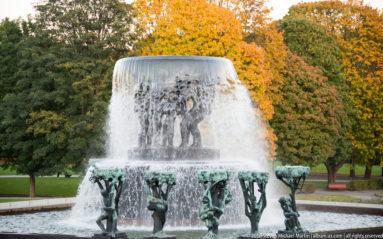 Vigelandsparken Sculpture park by Steven Michael Martin
