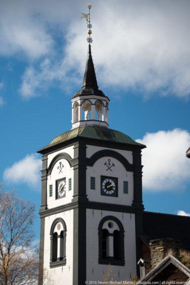 Roros Church by Steven Michael Martin