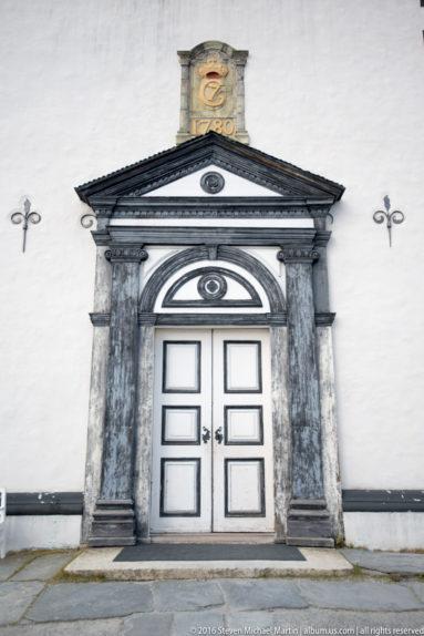 Church Door in Roros by Steven Michael Martin
