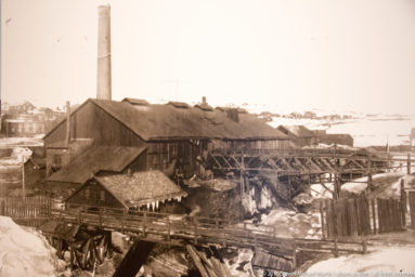 Historic photo of copper mill in Roros by Steven Michaael Martin