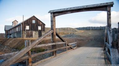 Bridge over Røa and Glåma Rivers in Roros by Steven Michael Martin