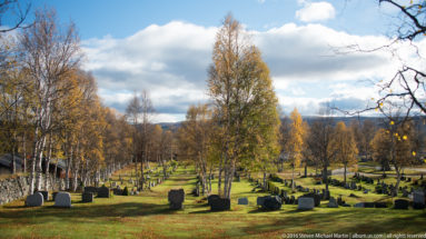Cemetery in Roros by Steven Michael Martin