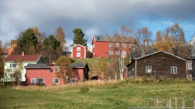 Farm in Roros by Steven Michael Martin