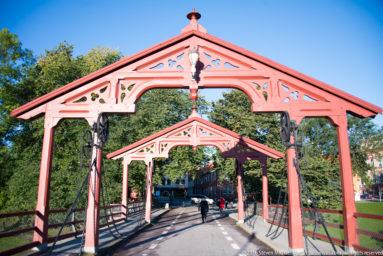 Trondheim Gamle Bybrua by Steven Michael Martin