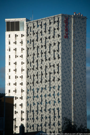 Scandia Hotel near lerkendal stadion (stadium) by Steven Michael Martin