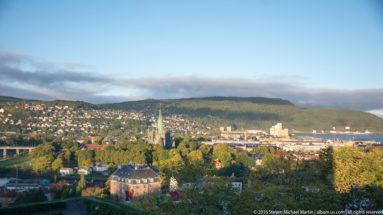 View from Kristiansten Festning by Steven Michael Martin