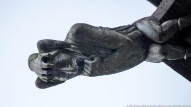 Gargoyle on Nidaros Domkirke (Nidaros Cathedral) in Trondheim by Steven Michael Martin