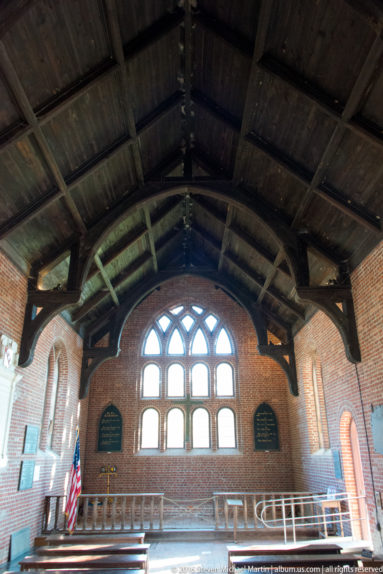Rebuilt Nave of Jamestown Church originally built in 1630 by Steven Michael Martin at album.us.com