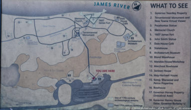 Jamestown Map of Jamestown Fort by Steven Michael Martin at album.us.com