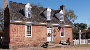 The Somerwell House (c.1700) on Main Street in Yorktown by Steven Michael Martin at album.us.com