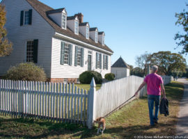 Dudley Digges House, circa 1760 Historic Yorktown by Steven Michael Martin at album.us.com