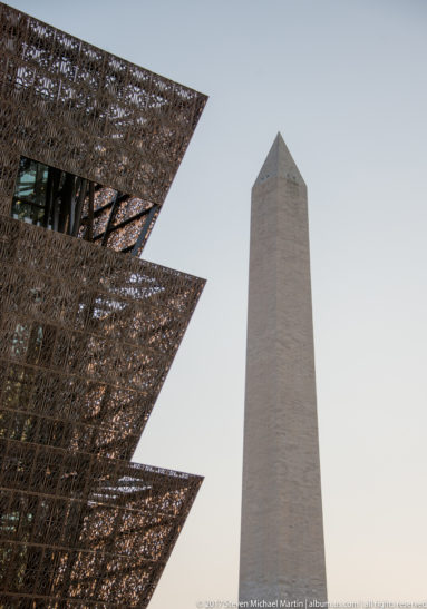 African American Museum with Monument