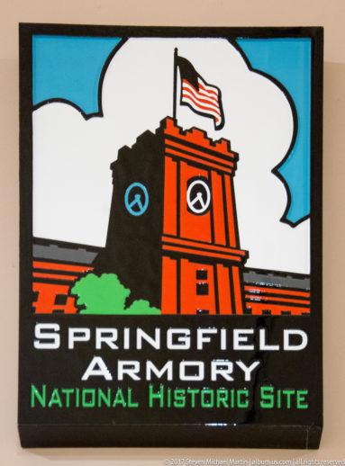 Springfield Armory plaque